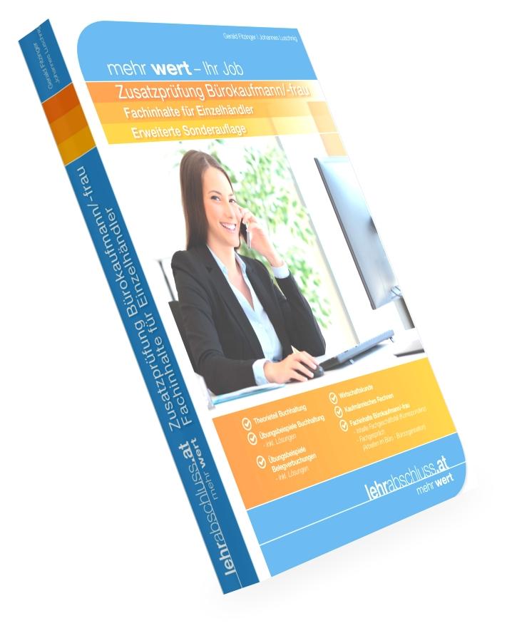 Zusatzprüfung Bürokaufmann/-frau für Einzelhändler - erweiterte Sonderauflage