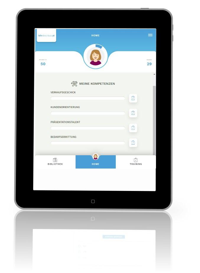 Prüfungscoach App Einzelhandel